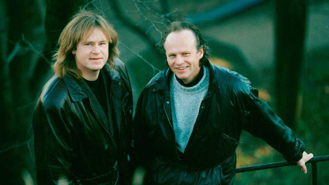 """Ted Gärdestad hyllades i förra säsongen av """"Så mycket bättre"""". Brodern Kenneth Gärdestad (till höger) var på plats för att lyssna på artisternas tolkningar."""