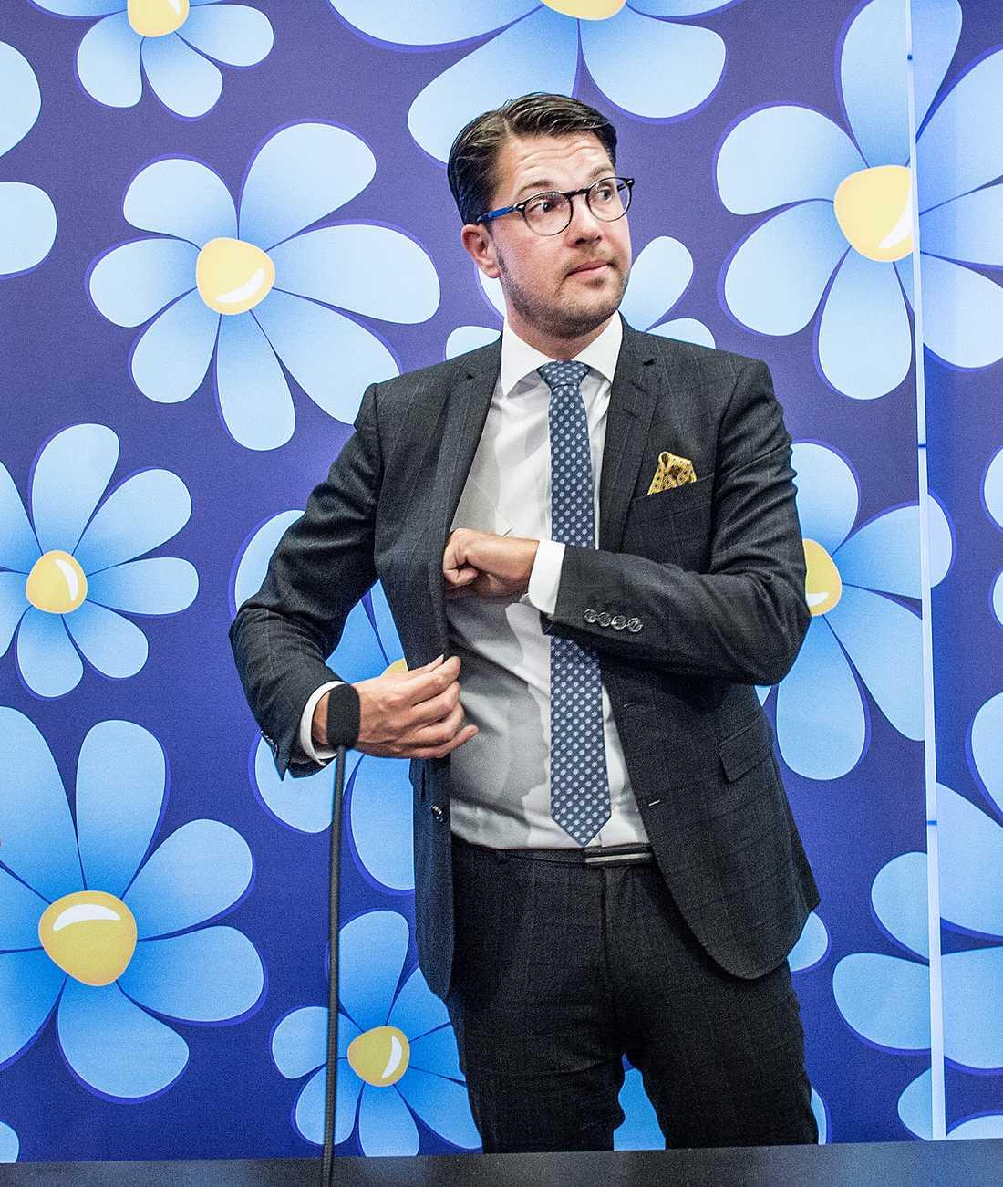 Jimmie Åkesson. Foto: Tomas Oneborg