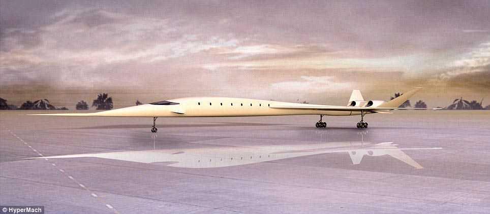Sonic Star tar bara 20 passagerare, Concorde tog 100.