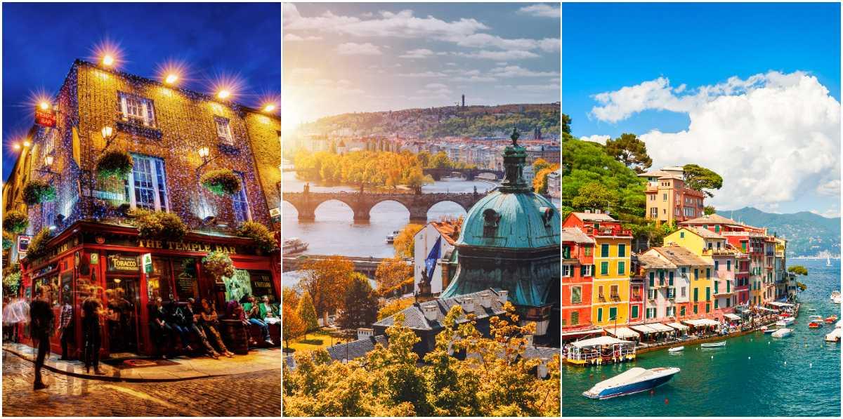 Det finns många platser perfekta för en weekend i Europa.