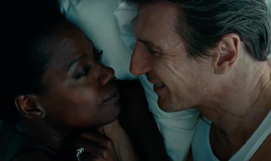"Viola Davis och Liam Neeson i ""Widows""."