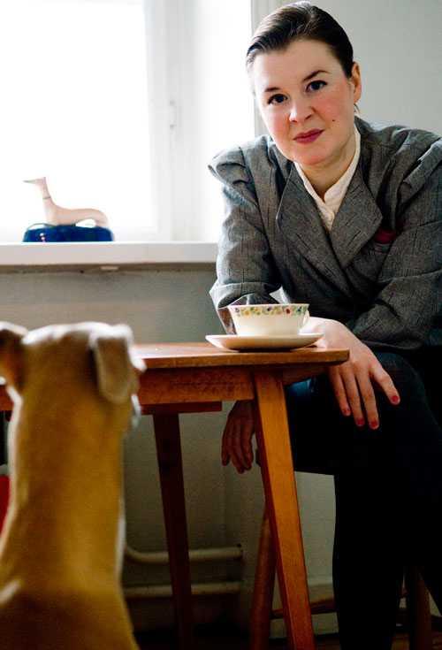 Författaren Anna Ringberg.