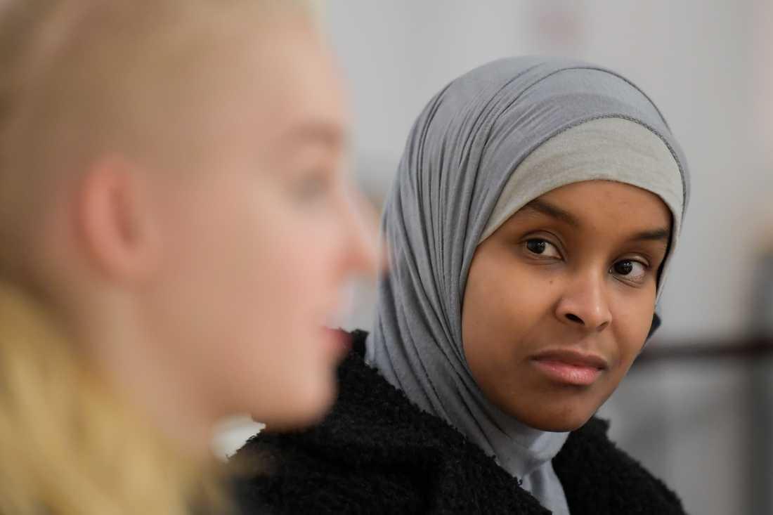 Zeinab Gaatur hoppas att högskoleprovet kan hjälpa henne att komma in på den utbildning hon vill läsa.