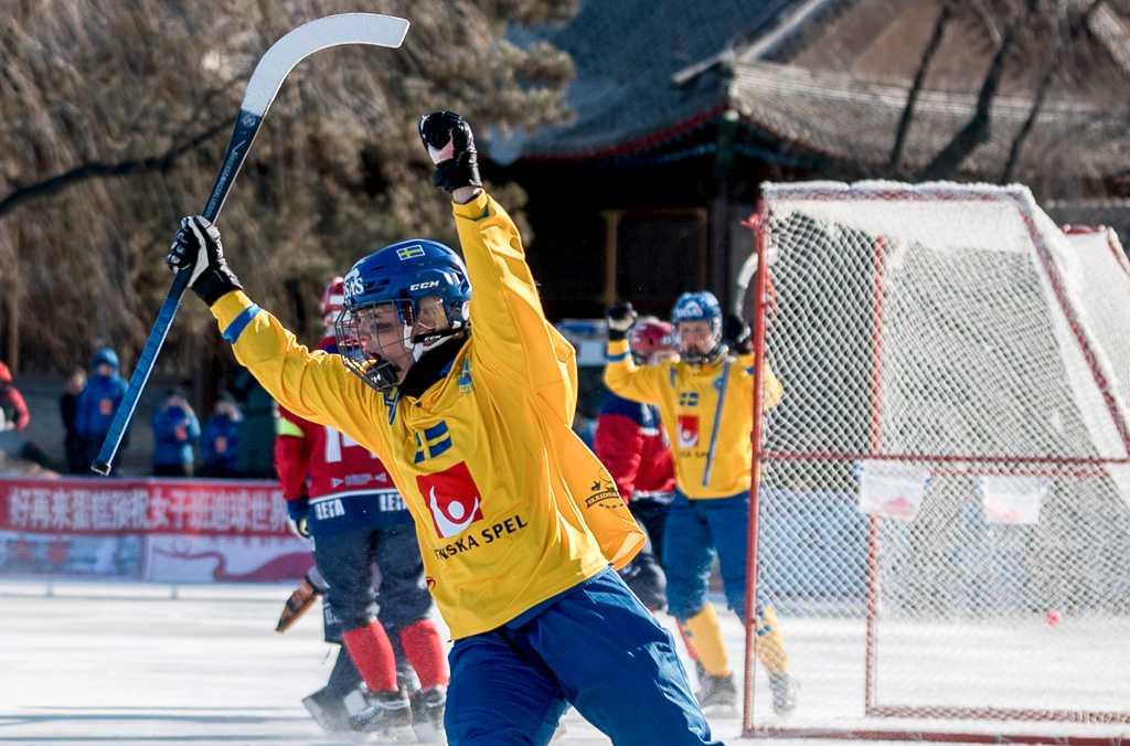 Sveriges damlandslag i bandy är klara för VM-final efter 5–0-seger 264610446b3fe