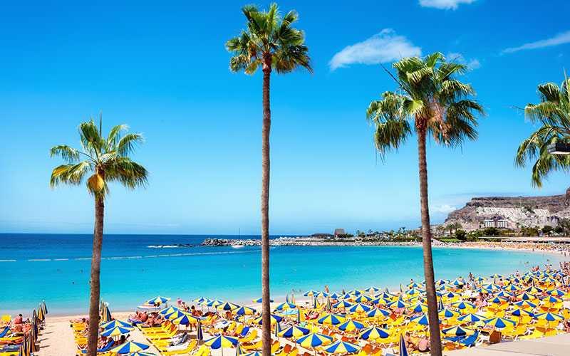 Gran Canaria är resmålet som är allra populärast.