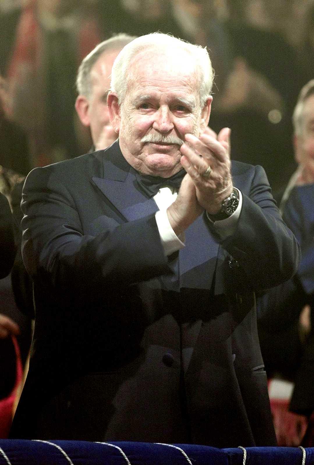 Furst Rainier av Monaco dog 2005.