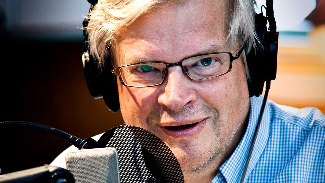 Sveriges radio-profilen Thomas Nordegren.