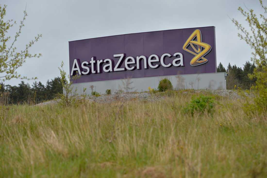 Astra Zeneca bjuder in mediechefer. Arkivbild.