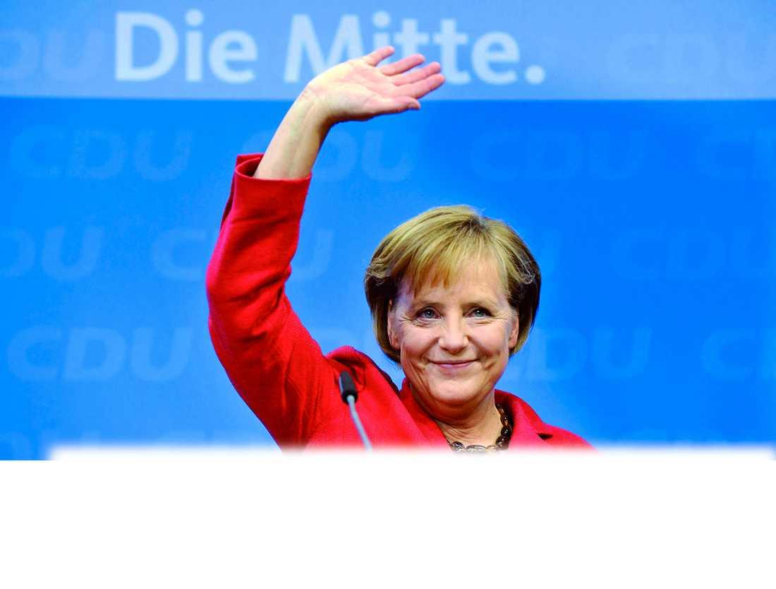 Mirakel-Merkel Angela Merkel är en av flera vinnare i det tyska valet och får nu forma den regering hon vill ha. Socialdemokraterna gjorde däremot sitt sämsta val sedan andra världskriget och tappade en tredjedel av väljarna.