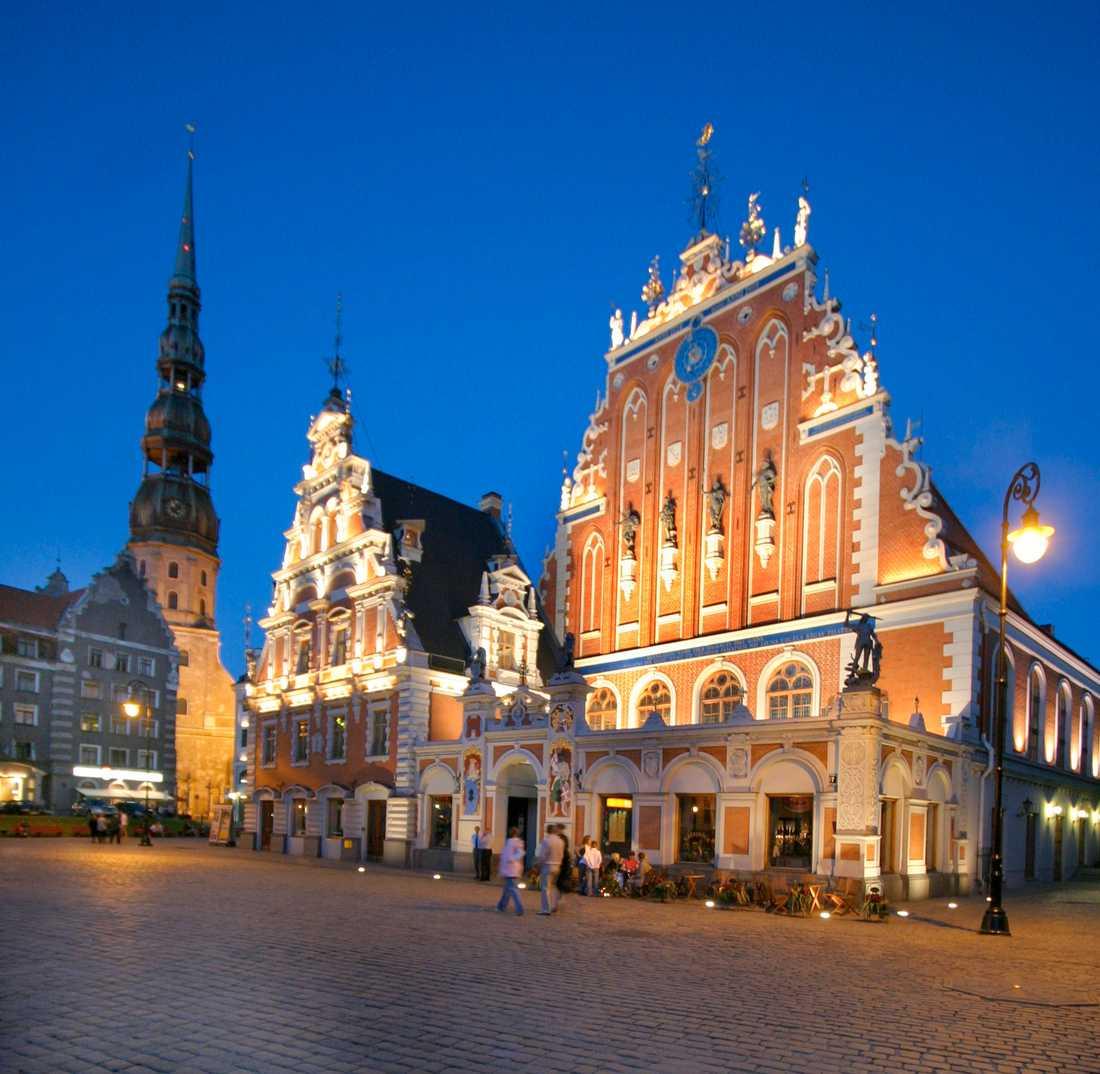 Riga kvällstid.