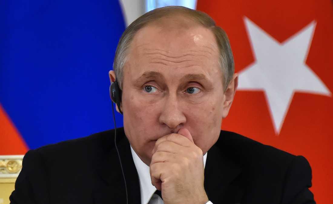 Trump har även uttalat sig positivt om president Putin.