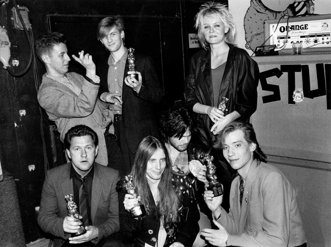 Skönt gäng 1985 Ratata, Tommy Körberg, Dan Hylander, Eva Dahlgren...