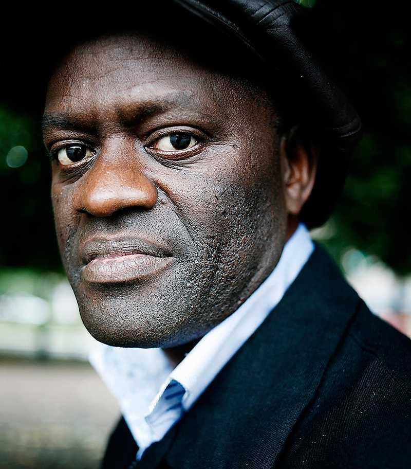 Alain Mabanckou (född 1966) är uppväxt i hamnstaden Pointe Noire i nuvarande Kongo-Brazzaville. Foto: Sofia Runarsdotter