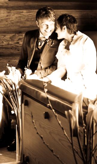Ett år senare På sin 28-årsdag, den 6 mars i år, blev Ida fru Wassås.