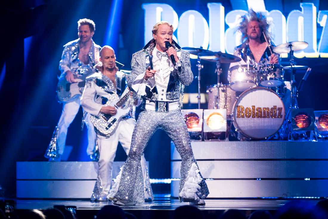 Rolandz i Melodifestivalens final