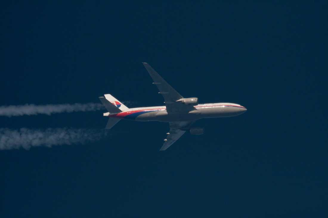 MH370 försvann den 8 mars i år.