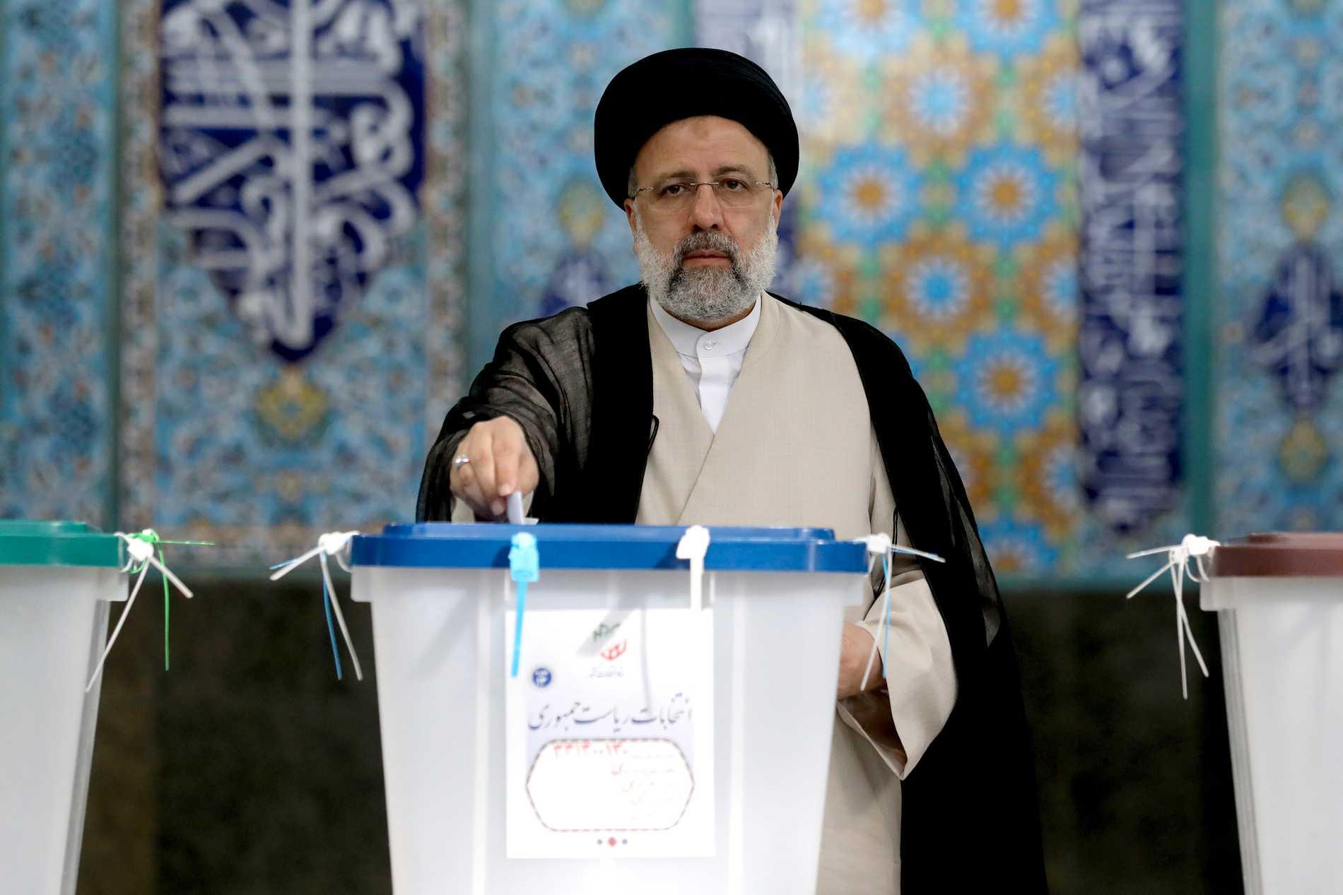 Presidentkandidaten Ebrahim Raisi.