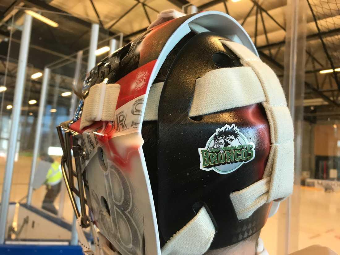 Fin hyllning och hedran till de omkomna i ungdomslaget Humboldt Broncos.