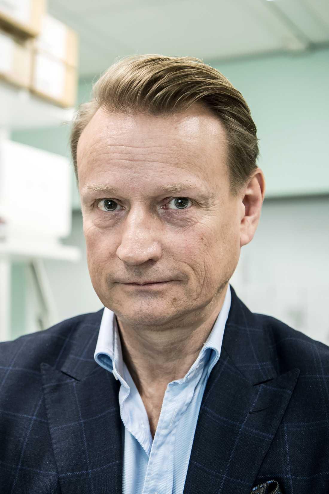 Matti Sällberg, professor i biomedicinsk analys vid Karolinska institutet.