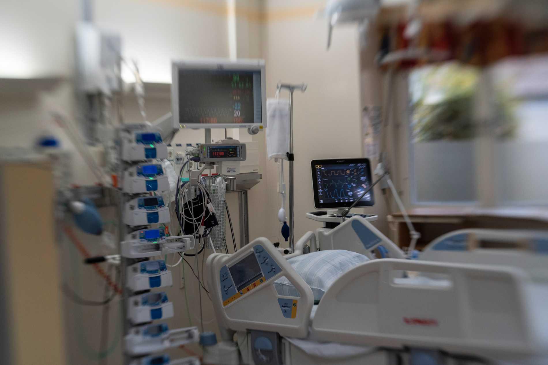 Respiratorslangar fast i Turkiet