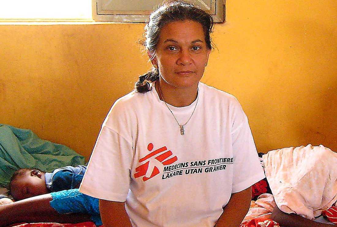Sara Kitabwalla, programansvarig på Läkare utan gränser.