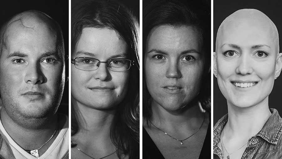 Vi är så många som haft fruktansvärda resor tillbaka in i livet efter långa cancerbehandlingar. Och som får kämpa alldeles för hårt för så självklara saker som att utbilda sig, skriver fyra unga cancerdrabbade.