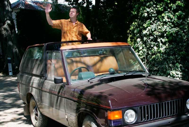 Range Rover har tillverkat paradbilar till den brittiska drottningen. Foto: Johannes Collin