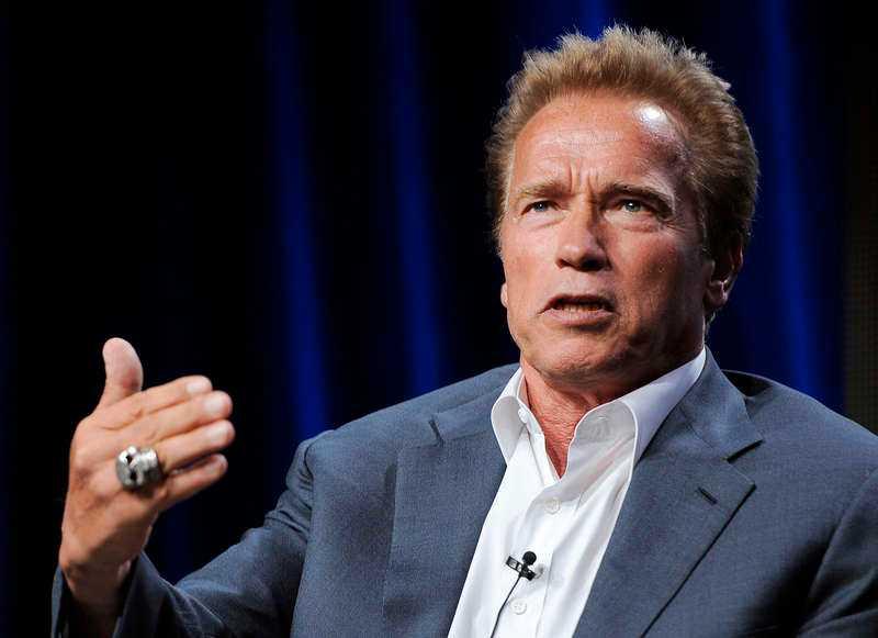 """För Nöjesbladet berättar Arnold Schwarzenegger om livet efter uppbrottet med Maria Shriver. """"Det har varit en lektion i att misslyckas och att resa sig"""", säger han."""