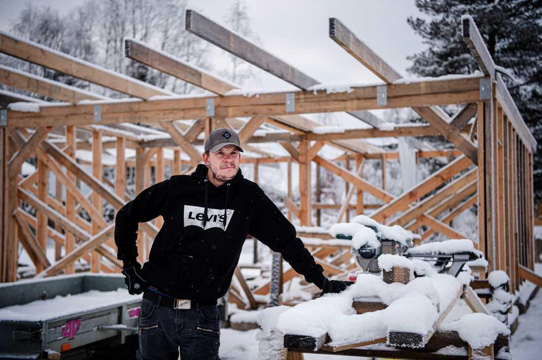 """""""Jag finner inte ord för drogsituationen i Vilhelmina, det är för jävligt"""", säger Patrik Lindgren."""