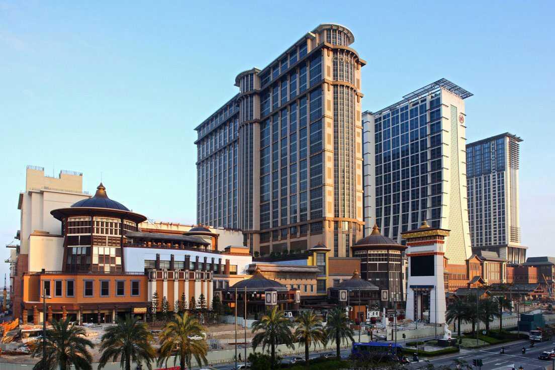 Sands Cotai Central är ett imponerande casino.