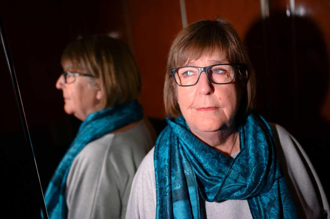 Kvinnojouren i Kristianstad, där Siv Persson är volontär, har plats för sju kvinnor och medföljande barn, men bara fyra bor där just nu.