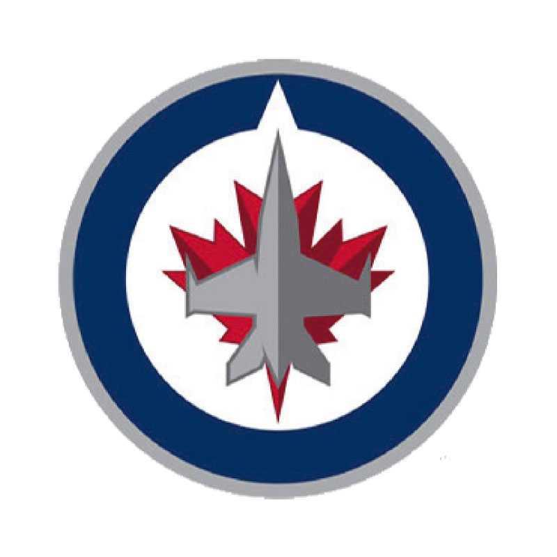 """Winnipeg Jets 2011 Fansen i Manitoba jublade först åt att få tillbaka sitt lag i NHL. Sen åt att klubben skulle behålla namnet Jets från förr. Men att loggan byttes ut var inte något som sågs med blida ögon av Jets-supportrarna. """"Här får vi en chans till en nystart och det vi får är en cirkel med ett plan i"""", muttrades det från fansen."""