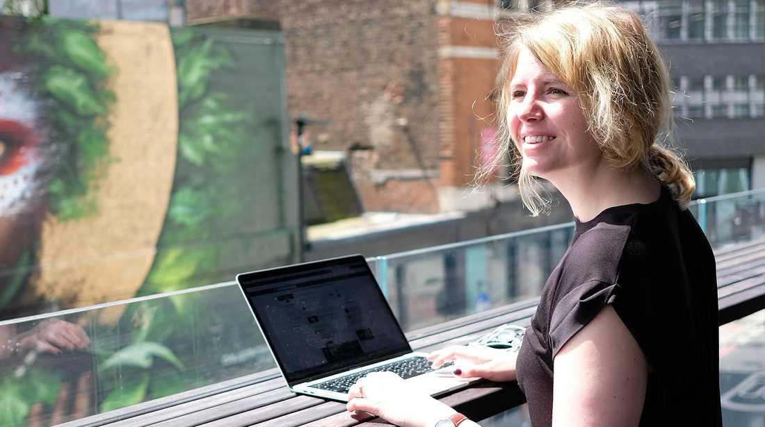 Emelie Fågelstedt, 32, är en av landets många gig-jobbare.