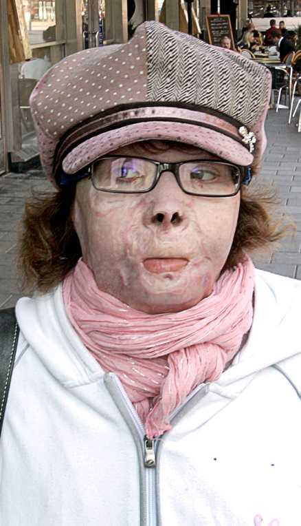 Yvonne när Aftonbladet mötte henne för tio år sedan,