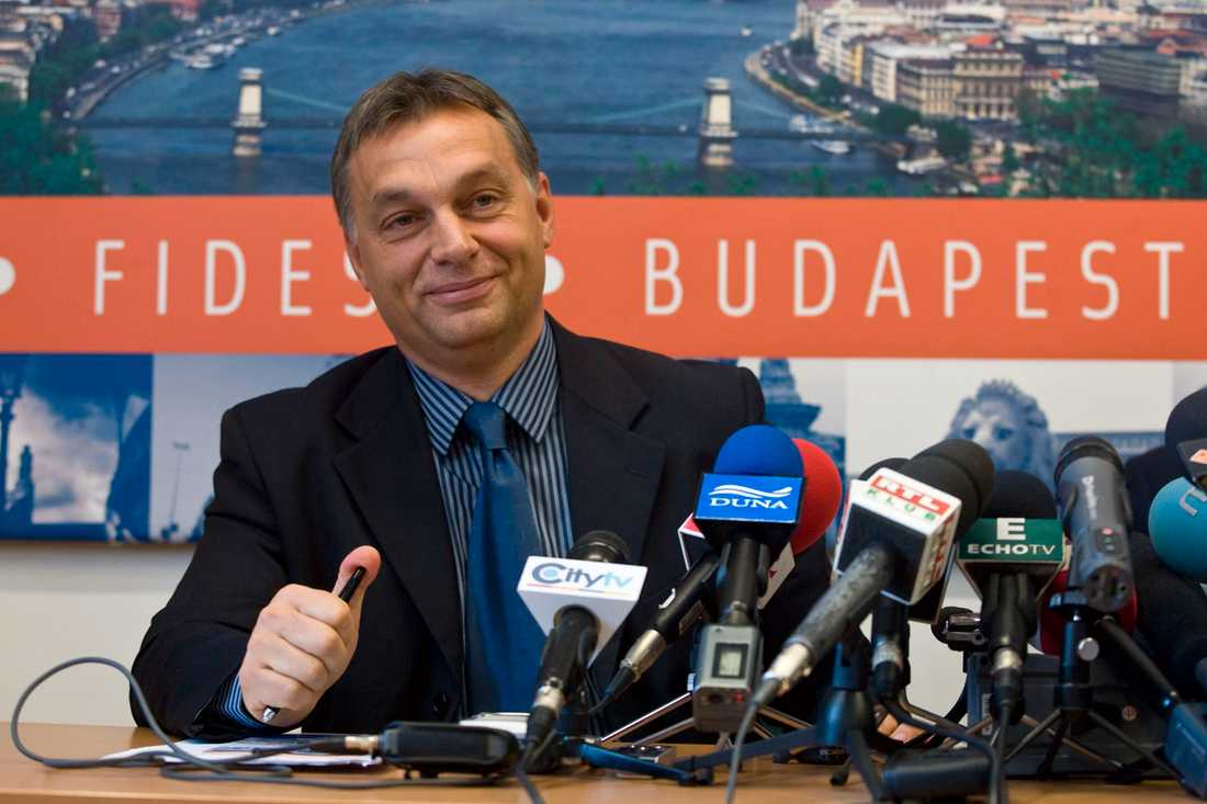 Viktor Orbán, premiärminister Ungern