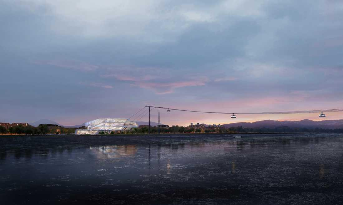 Linbanan väntas börja byggas år 2020.