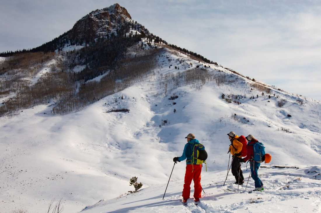Den nya skirorten bjuder på spektakulära utsikter.