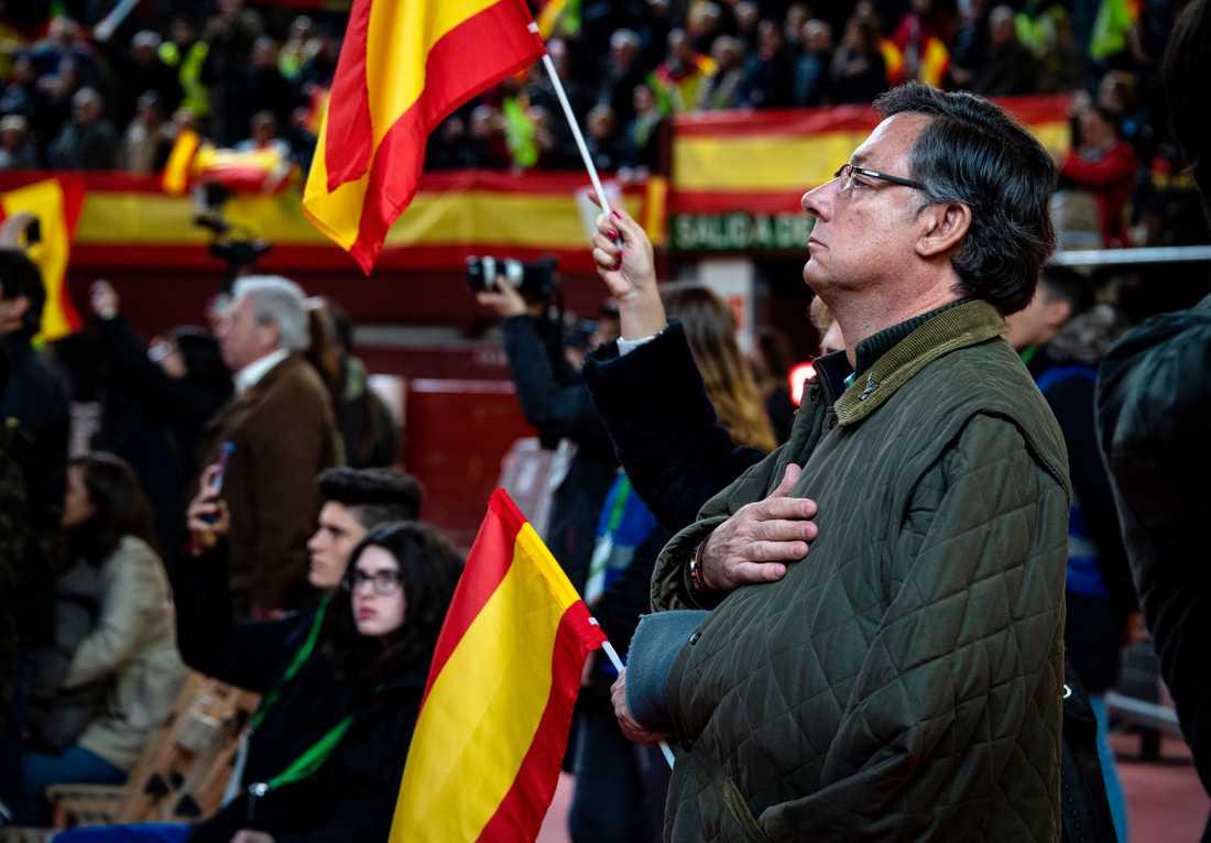 Partiet har på kort tid etablerat sig över hela Spanien.