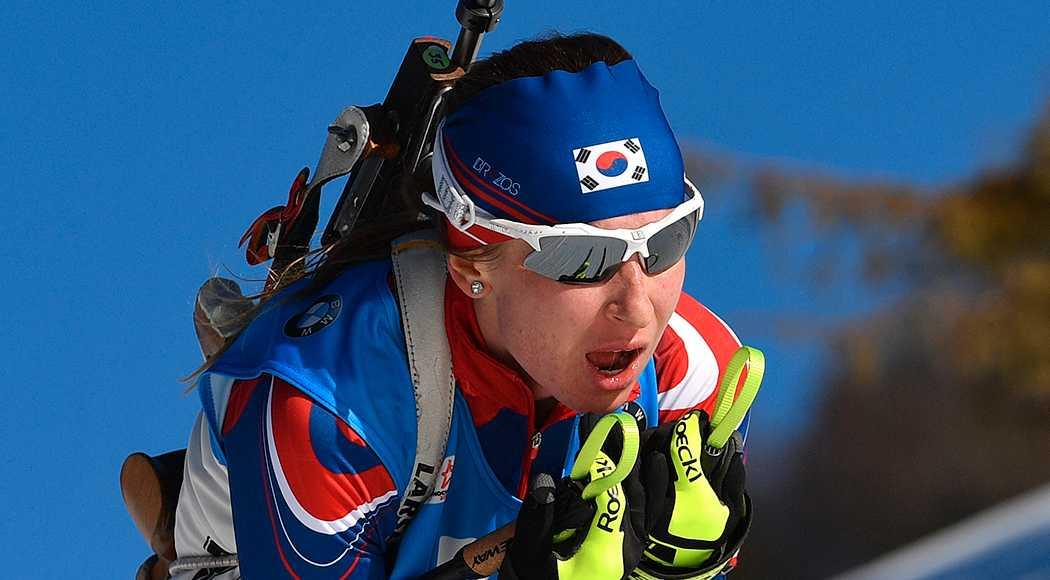 Ryskan Jekaterina Avvakumova tävlar för Sydkorea i OS.