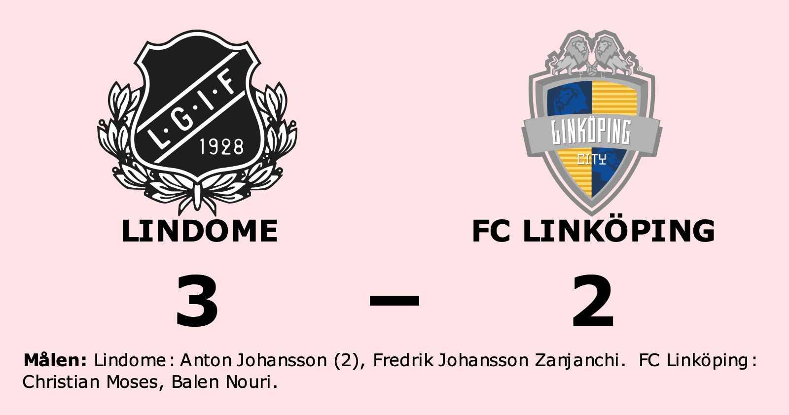 Christian Moses och Balen Nouri målskyttar när FC Linköping förlorade