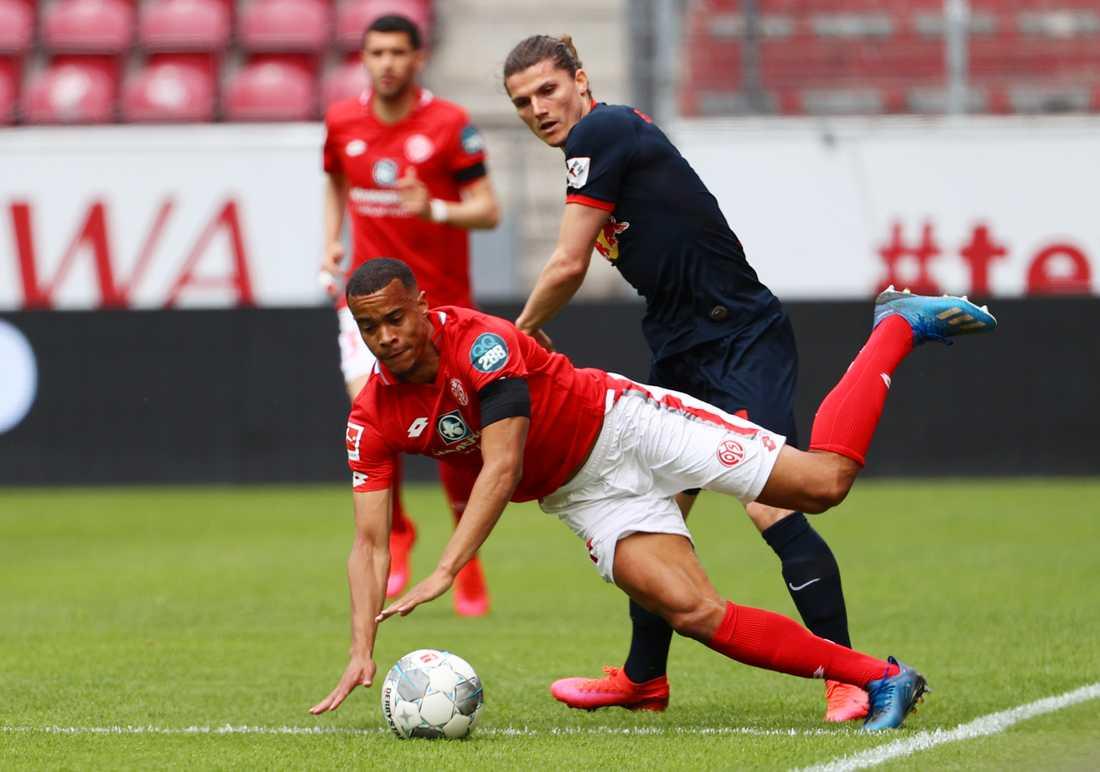 Robin Quaisons Mainz hade det tungt mot Leipzig.