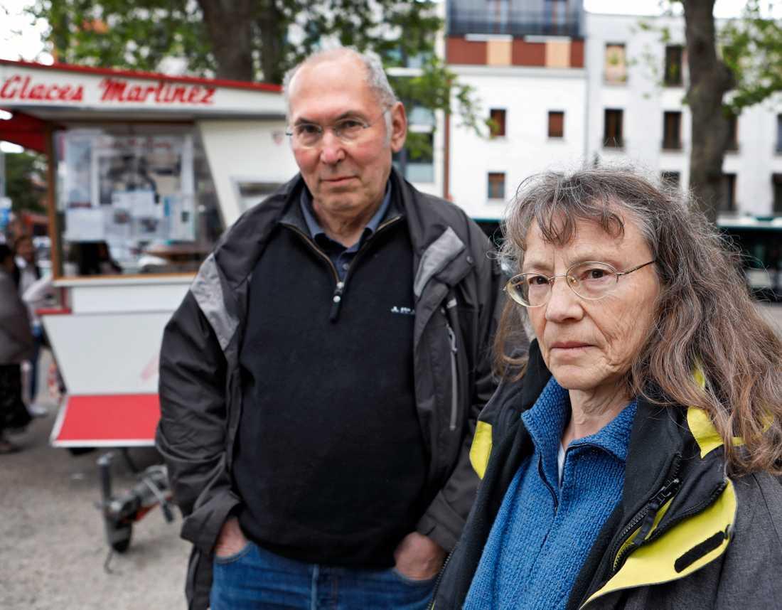 Bernard Valin och Claude Lemarquis, båda pensionerade lärare.