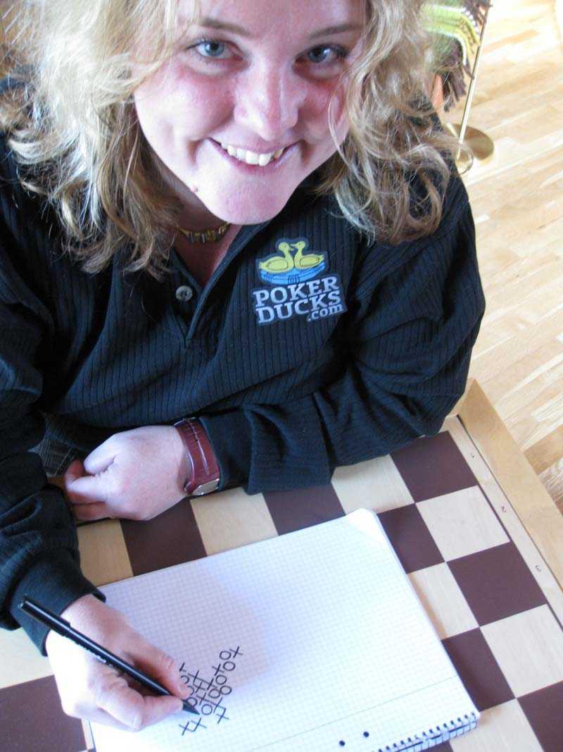 Så började spelintresset Birgitta Johansson ägnade sig åt luffarschack som liten. Numera tillhör hon pokereliten i Sverige.