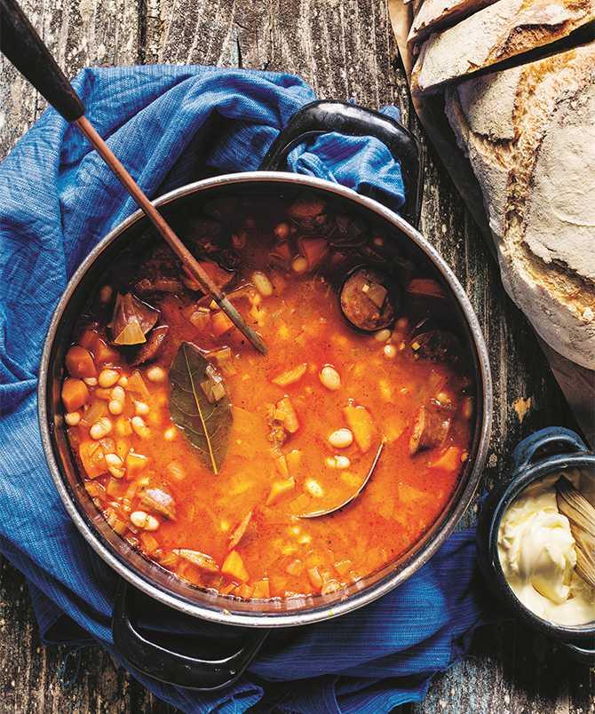 Grah – bönsoppa från Balkan