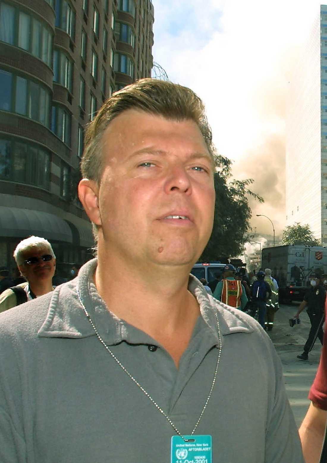 Wolfgang Hansson i New York för tio år sedan.