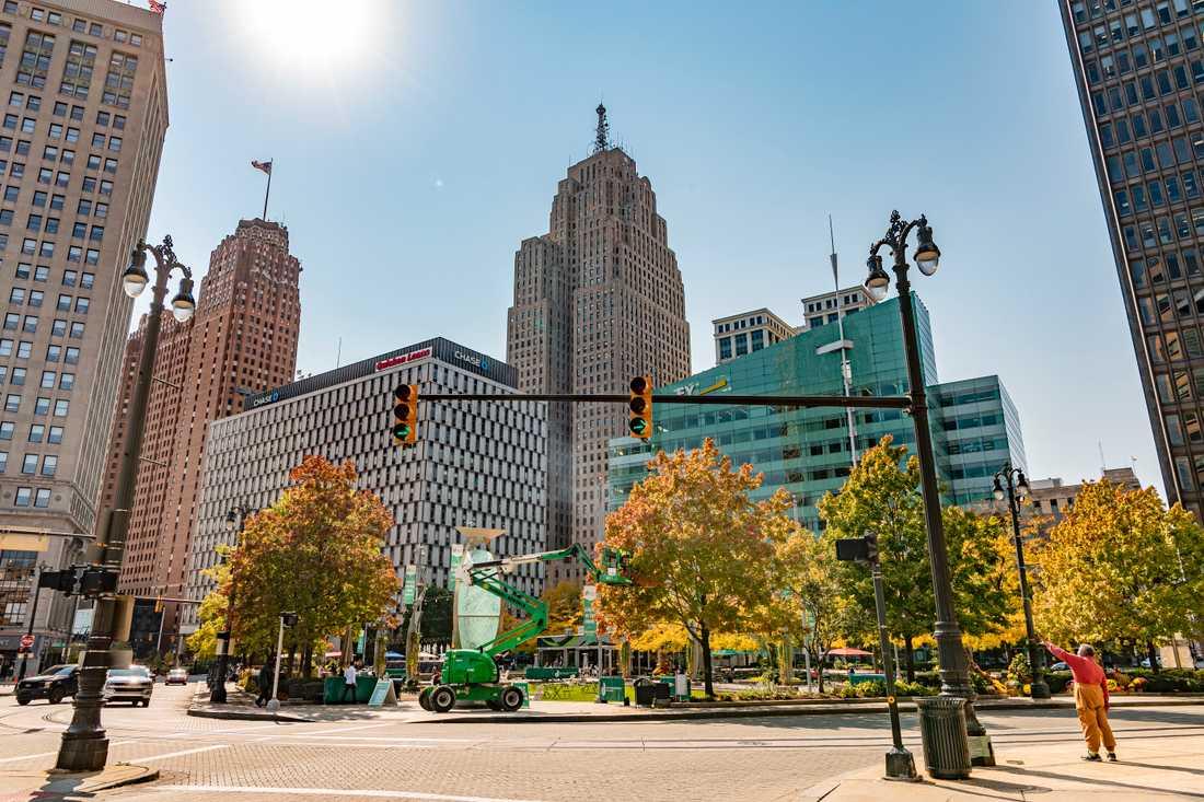 Detroit är inte längre synonymt med död, elände och kriminalitet.