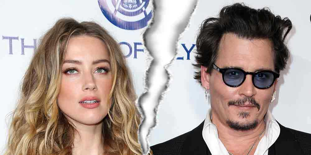 Amber Heard och Johnny Depp går enligt uppgift skiilda vägar.