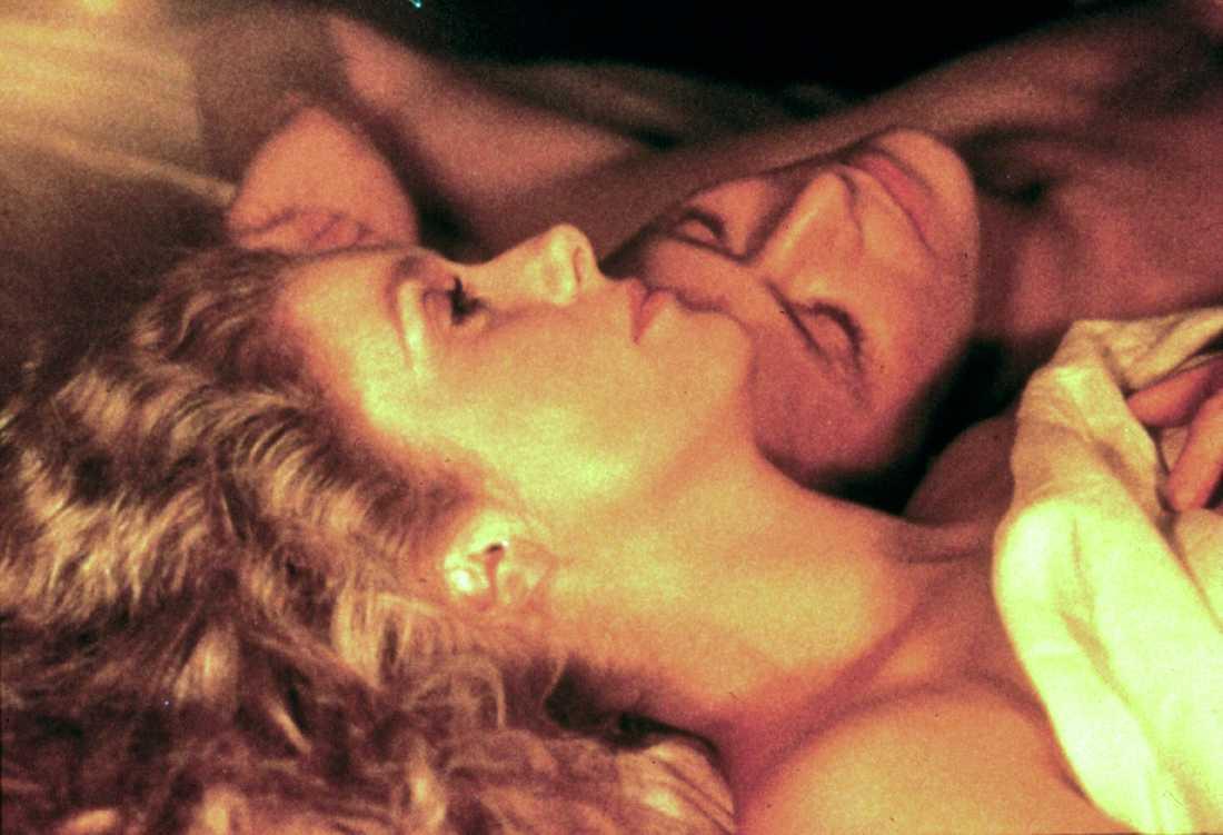 """I """"Blodshunger"""" 1983, med Catherine Deneuve."""