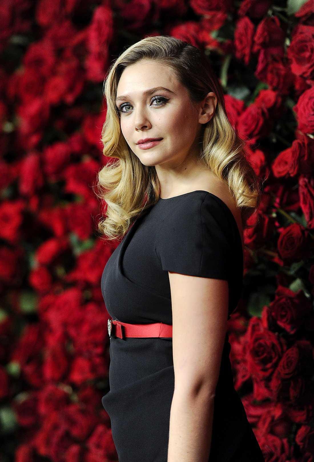 HYLLAS FÖR SIN ROLL Elizabeth Olsen är aktuell på filmduken. Hon har själv valt att bli skådespelerska …