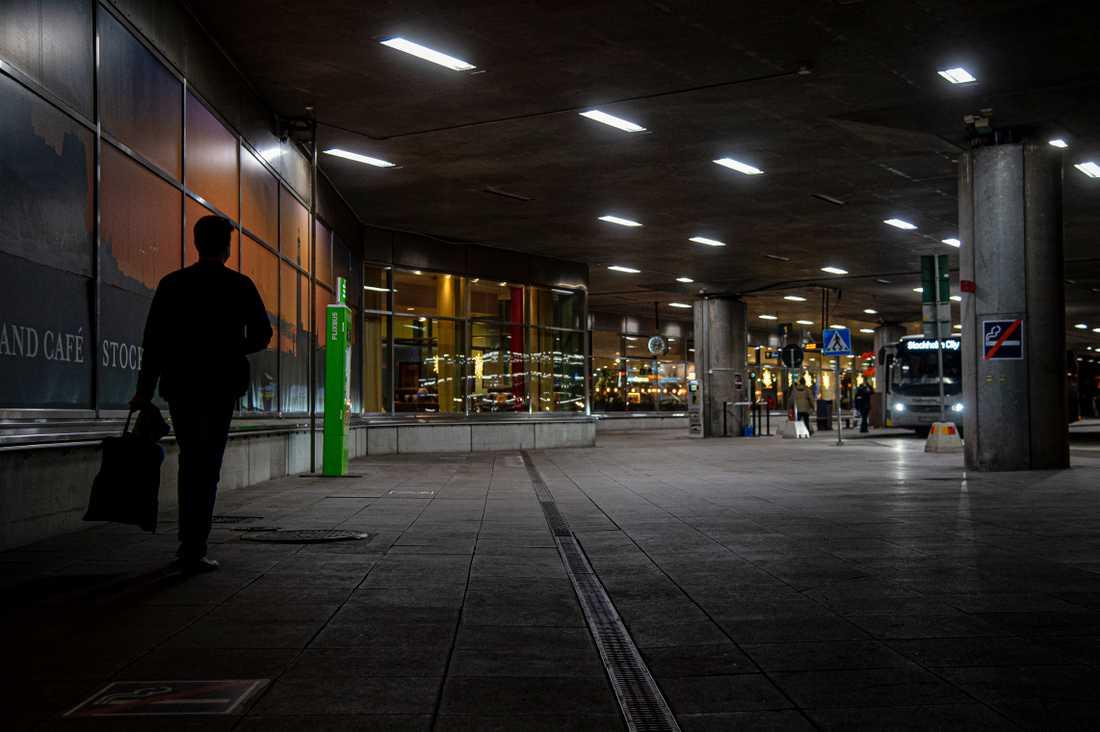 Genrebild från Arlanda, terminal 5.